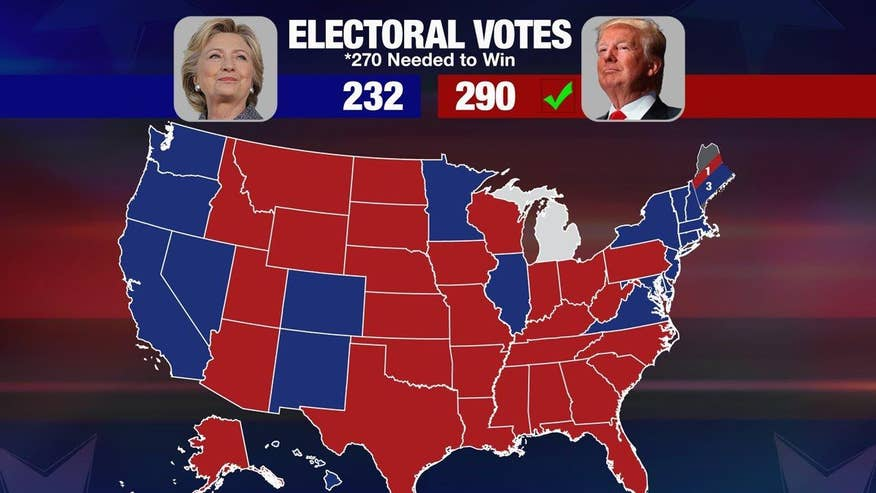 Liberals seeking to delegitimize Trump's presidential election victory have burned up Facebook and Twitter with pleas to get rid of the Electoral College over the possibility that Clinton won the popular vote