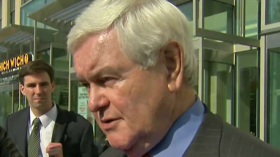 Gingrich on role in Trump transition, reports of turmoil