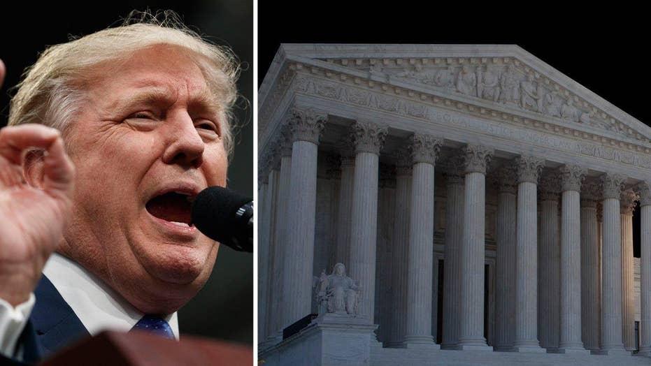 Court-watchers await Trump's Supreme Court pick