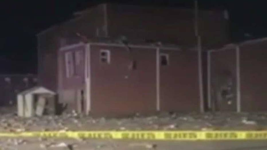 Gas explosion rocks small town in central Illinois