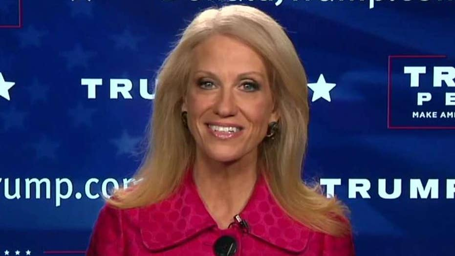 Kellyanne Conway weighs in on Trump transition
