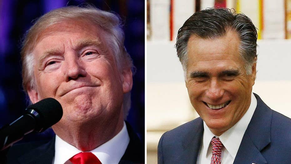 Trump team relocates to NJ ahead of meeting with Romney