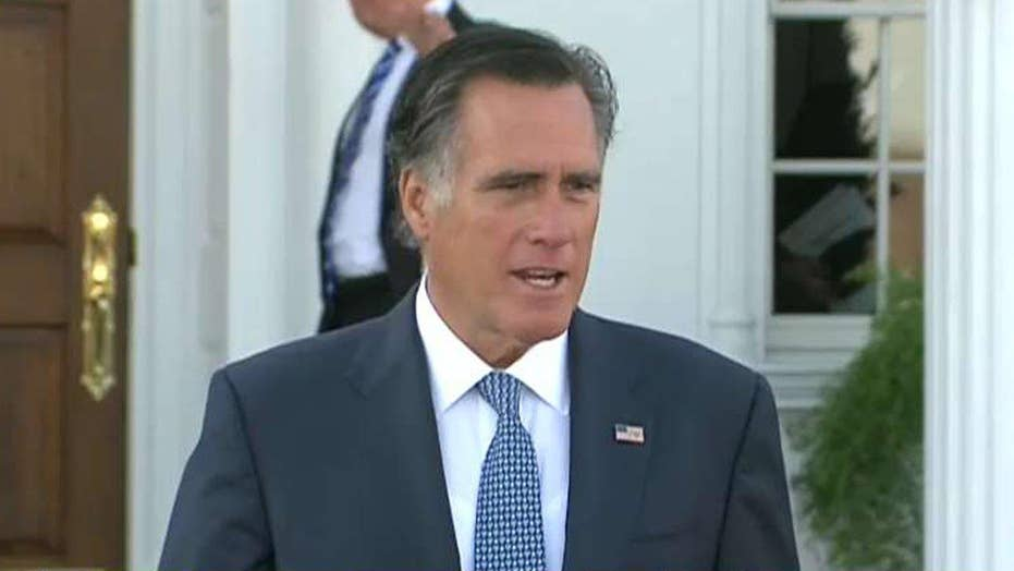 Mitt Romney comments on meeting with Donald Trump