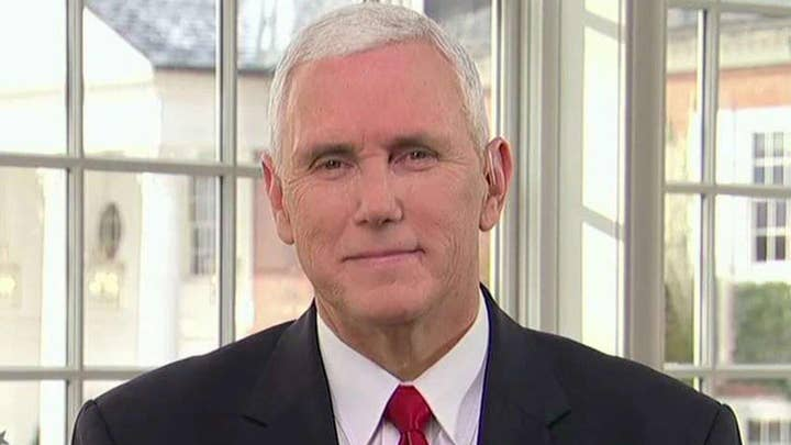 Pence on diversity of Trump Cabinet, role of VP, 'Hamilton'
