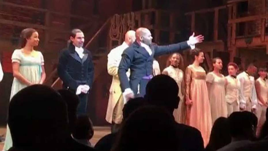 Hamilton cast lectures VP-elect Mike Pence