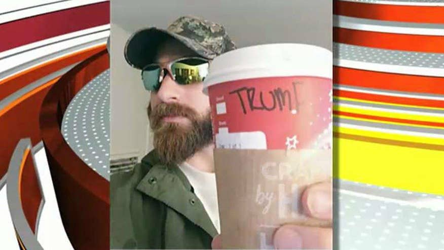 Creator says the rules are simple: When ordering at Starbucks, tell them your name is 'Trump'
