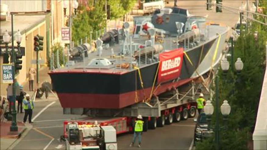 Raw video: Restored WWII ship will set sail in Louisiana's Lake Pontchartrain by April