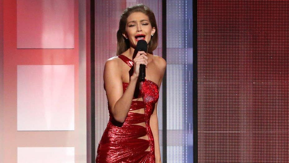 Gigi Hadid blasted for Melania Trump impersonation