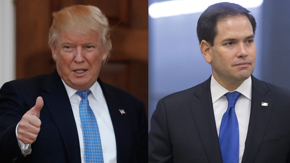 Will Trump agree to Rubio's move to crack down on China?