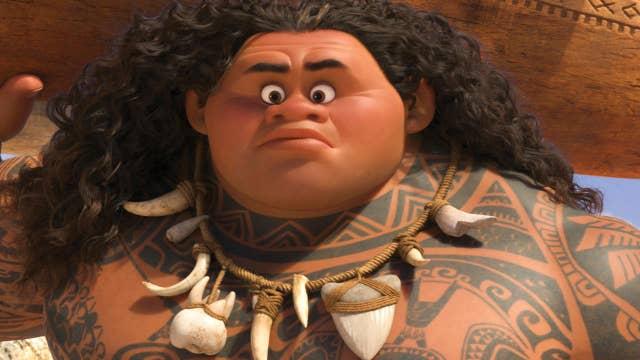 Dwayne Johnson gets animated in 'Moana'
