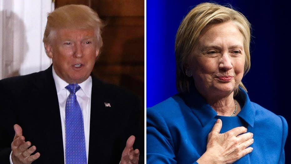 Critics can't stomach Trump's clean slate for Clinton