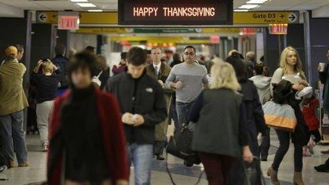 AAA: Thanksgiving travel will hit a nine-year high