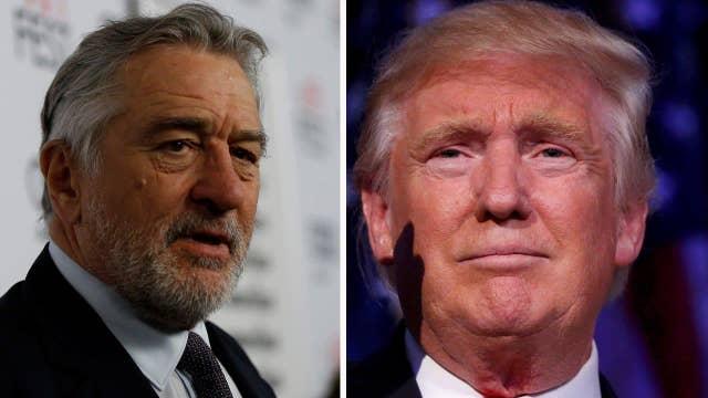 Robert De Niro changing tune on Trump?