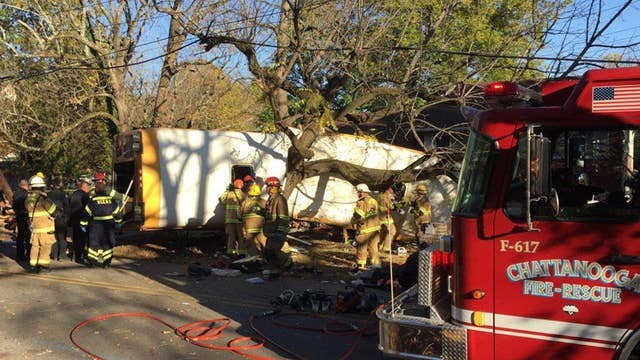 Chilling new details about deadly Chattanooga bus crash