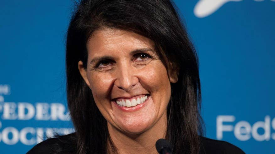 If confirmed by Senate Haley would be first female, non-white Cabinet-level official in Trump administration