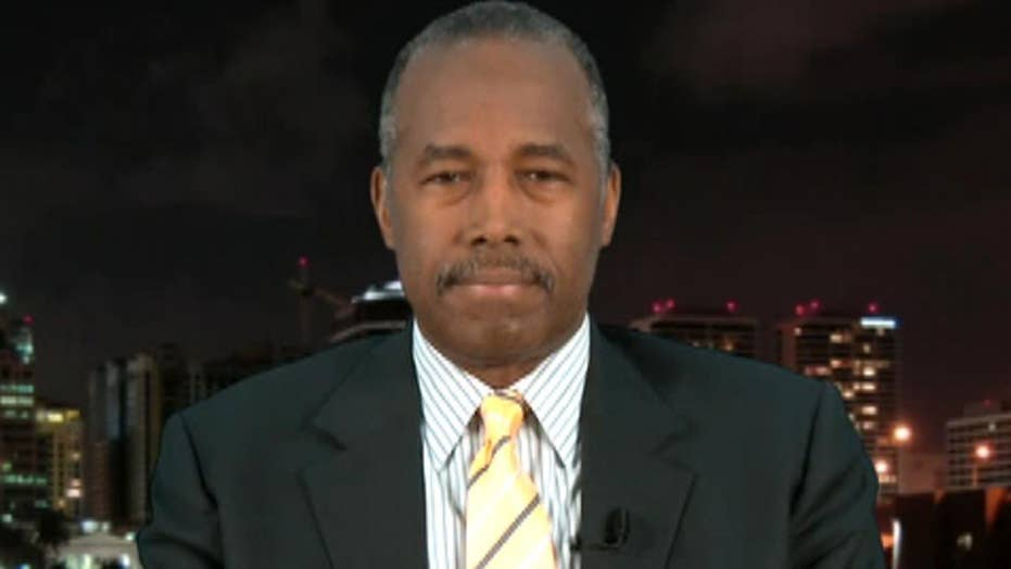 Carson on Cabinet position: A lot of things are on the table
