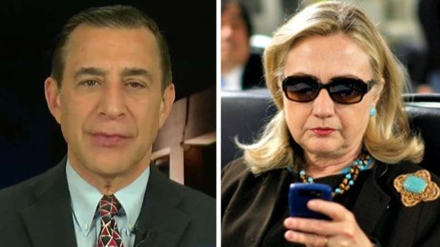 Rep. Darrell Issa on the continued investigation of Clinton