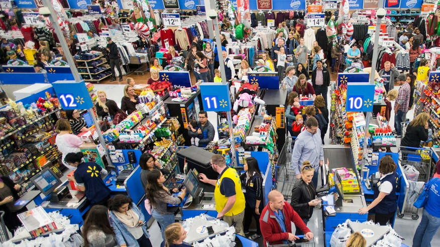 Shoppers scramble for the perfect gift