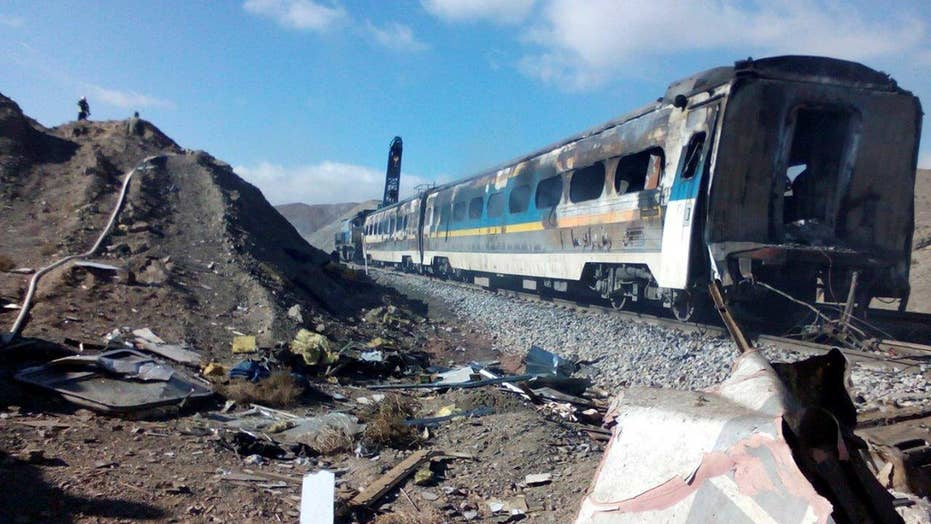 Train collision in Iran leaves at least 36 dead, state TV