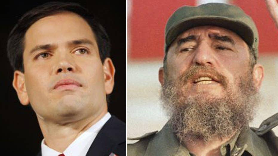 Marco Rubio on what Castro's death means for Cuba