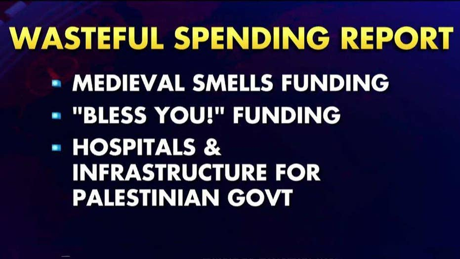 Report identifies billions in wasteful government spending