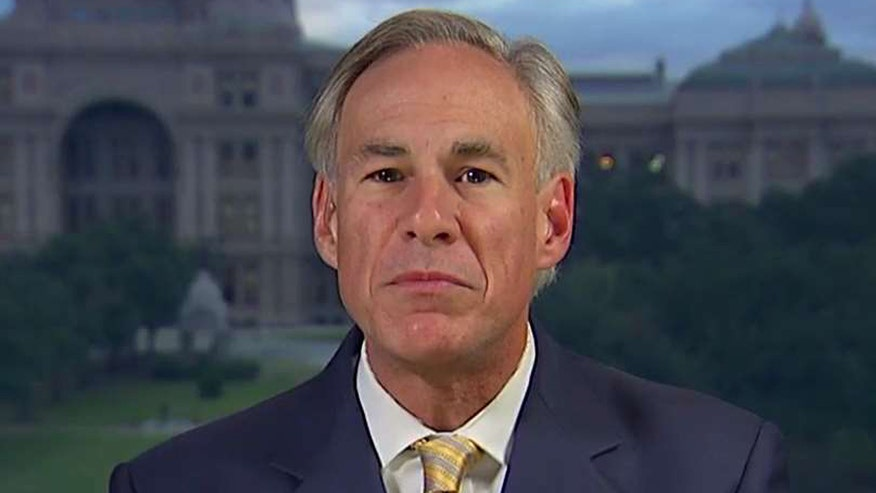 Texas governor speaks out on 'Fox & Friends'