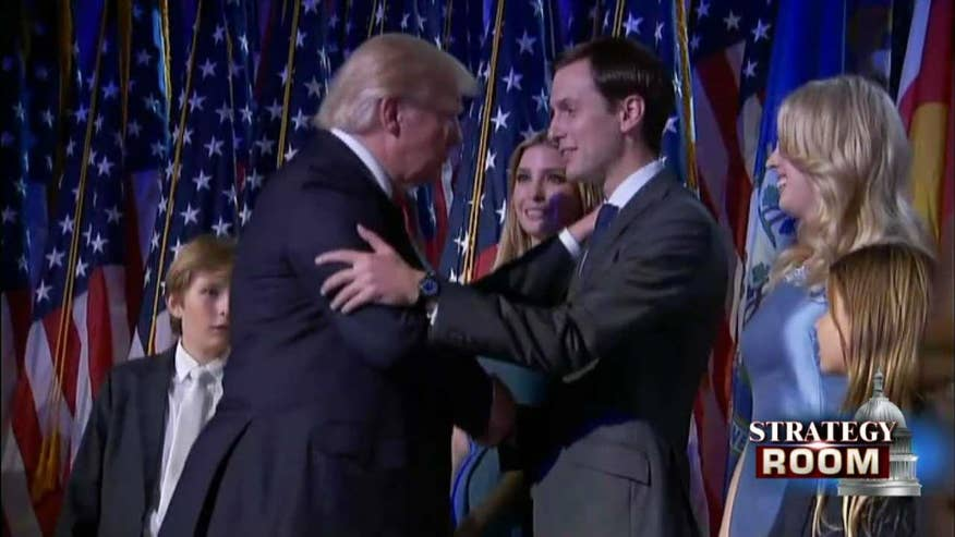 Strategy Room: David Mercer and Brad Blakeman discuss Jared Kushner's relationship to Donald Trump and how it could be a conflict