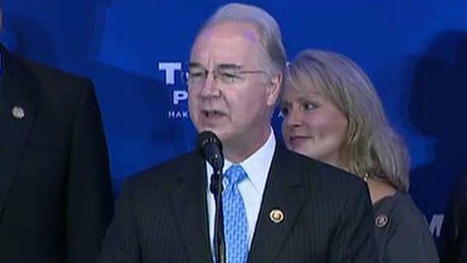 Trump to nominate Rep. Tom Price for HHS Secretary