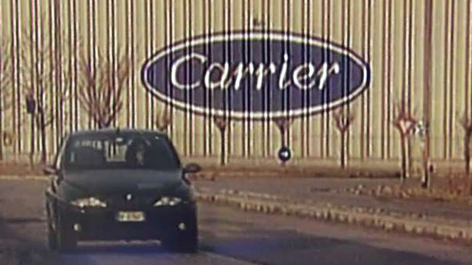 Carrier agrees to keep one thousand jobs in the US