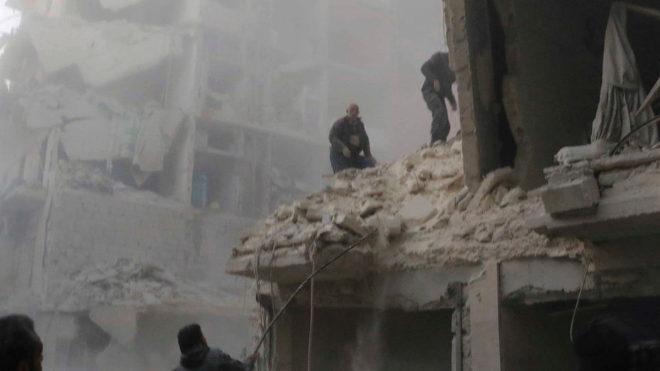 Pro-government forces in Syria advance on Aleppo