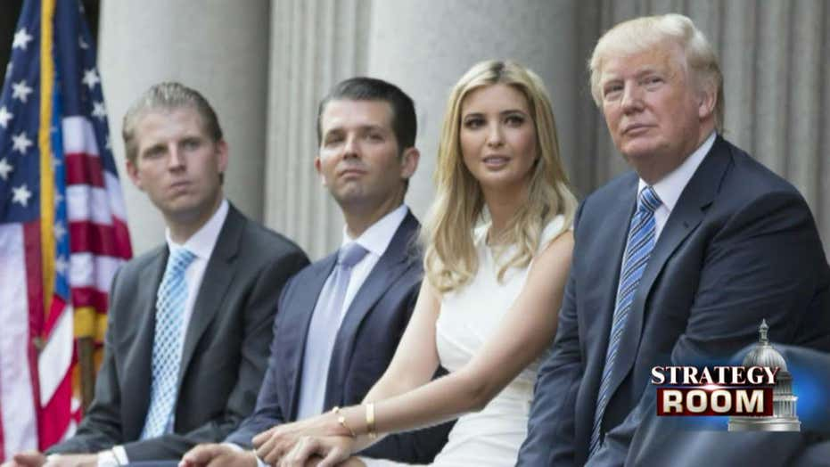 Should Trump fully hand over his businesses?