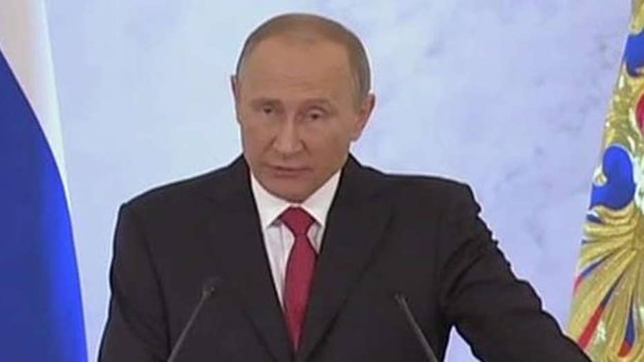 Putin reaches out to Trump in State of the Nation address