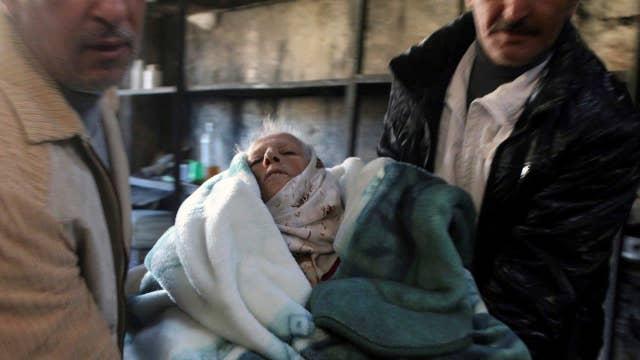 Falling temperatures compound Syrian humanitarian crisis