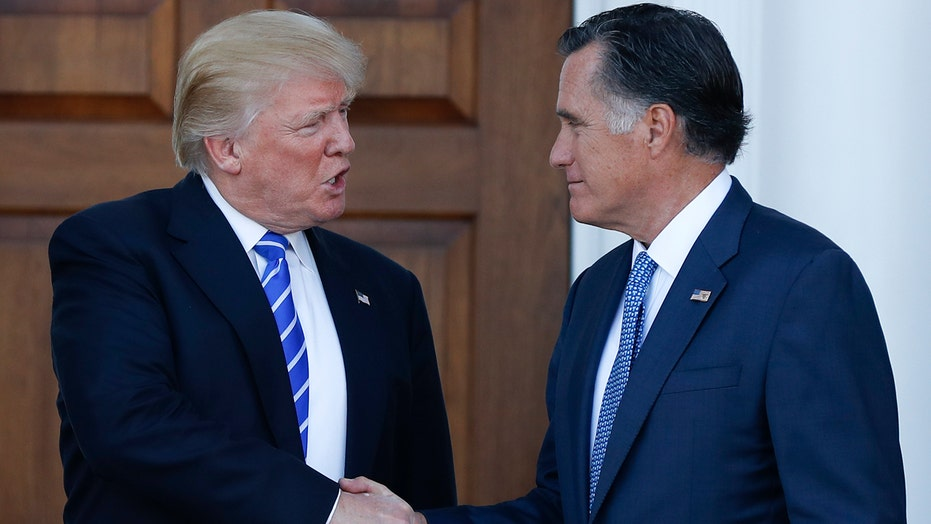 Can Trump look past his rocky relationship with Romney?