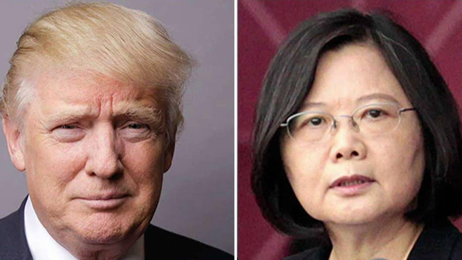 Trump faces backlash after receiving call from Taiwan