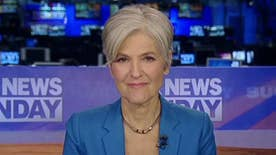Green Party presidential nominee weighs in on 'Fox News Sunday'
