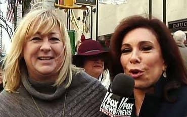'Street Justice' visits the Rockefeller Christmas tree