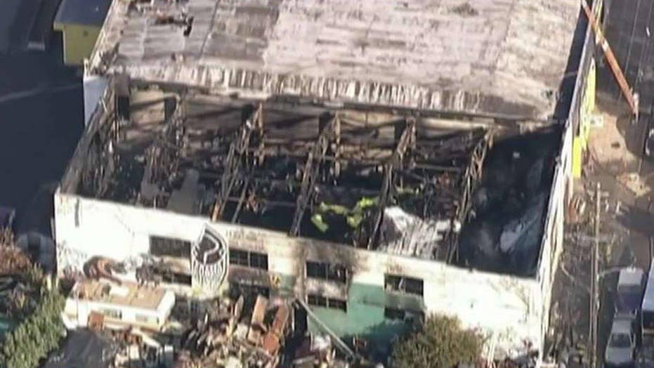 Death toll rises to 30 in Oakland warehouse fire