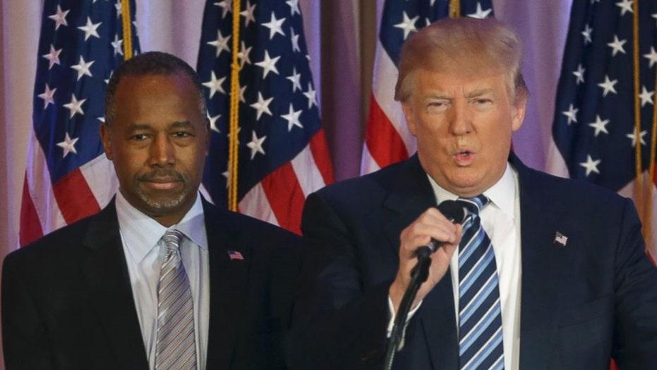 Trump picks Dr. Ben Carson for HUD Secretary