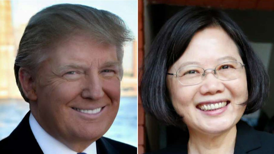 Shock in the media over Trump call with Taiwan president