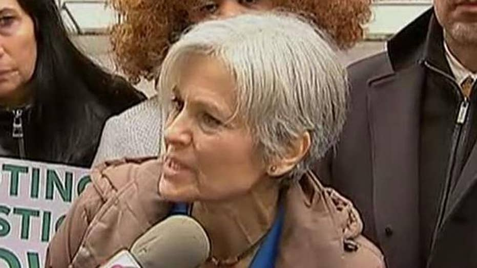 Stein takes her bid for recount to federal court