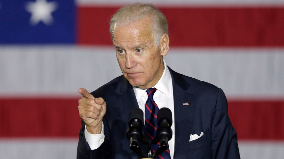 Joe Biden floats the idea of running for president in 2020