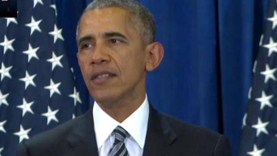 Obama warns against offering false promises in war on terror