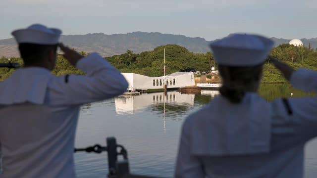 Americans remember the Pearl Harbor attack, 75 years later