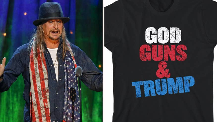 Fox411: Kid Rock sells shirts, hats with Trump-inspired slogans