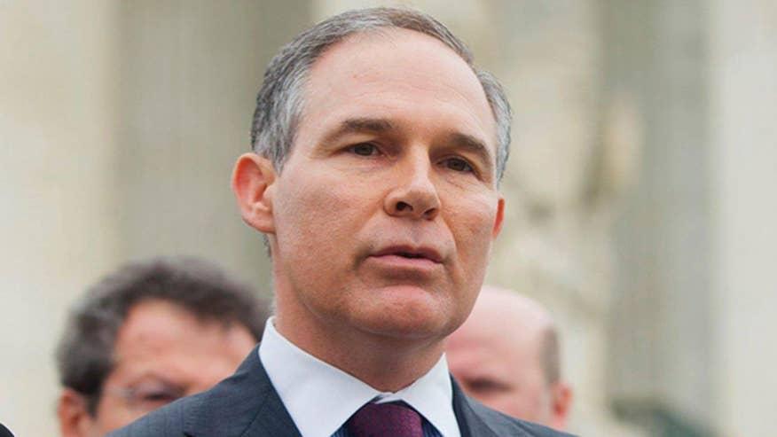 environmental protection agency scott pruitt donald trump environment