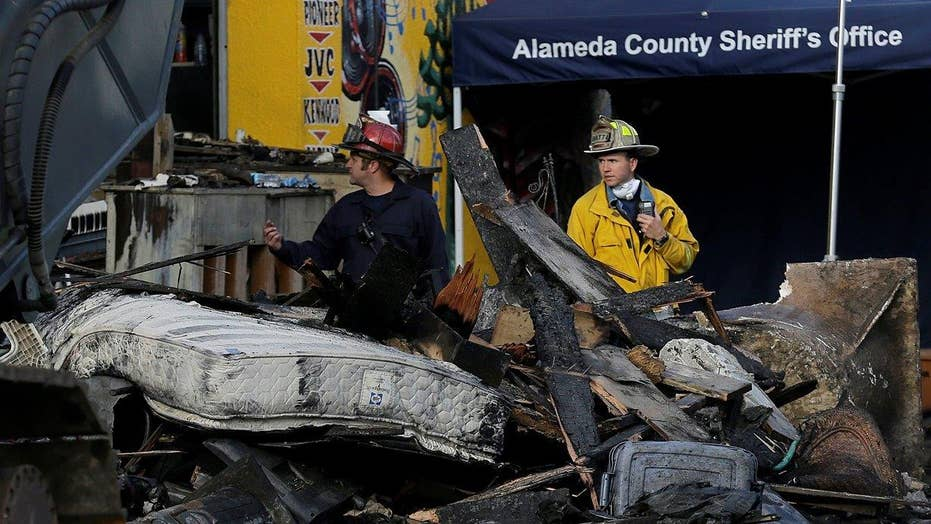 Calif. investigators end search in Oakland warehouse fire