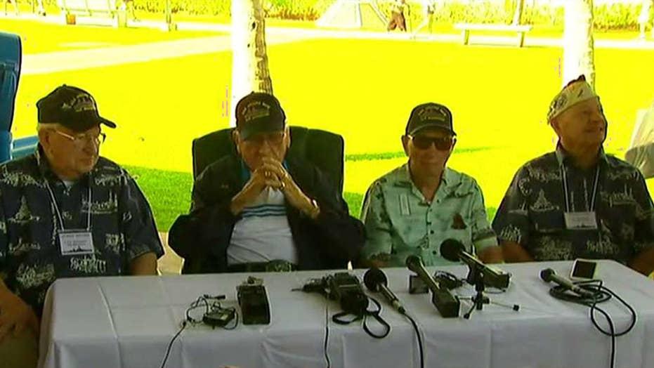 Survivors of the USS Arizona remember Pearl Harbor attack