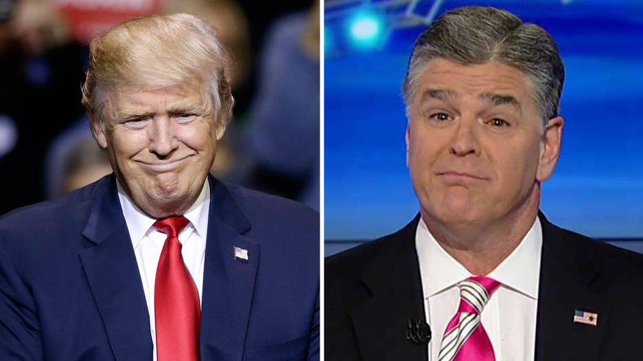 Hannity to Trump: If you want a real friend in DC, get a dog