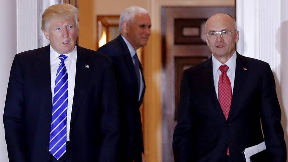 Trump expected to nominate Andy Puzder for labor secretary